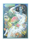 Seraphine When Young, 1990 Giclee Print by Endre Roder