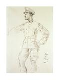 Portrait of Aircraftman T.E. Shaw, 1935 Giclee Print by Augustus Edwin John