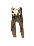 Brown Corduroy Trousers (Michael) 2003 Giclee Print by Miles Thistlethwaite