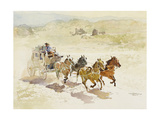 Pursuit (Or Persuit as They Have It) Giclee Print by LaVere Hutchings
