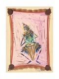 The Happy Drummer, 2004 Giclee Print by Oglafa Ebitari Perrin