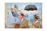 Arrival of the Scillonian, 2003 Giclee Print by Alan Kingsbury