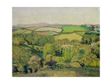 Drift Valley Giclee Print by Harold Harvey