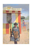 The Deckchair, 2004 Giclee Print by Alan Kingsbury