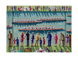 Regatta, 2000 Giclee Print by P.J. Crook