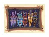 Black Mask, 2006 Giclee Print by Oglafa Ebitari Perrin