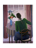 Woman at Window, 1998 Giclee Print by Ruth Addinall