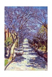 North Sydney Jacaranda, 1990 Giclee Print by Ted Blackall