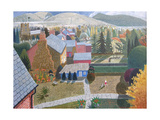 Autumn in Presteigne, 2006 Giclee Print by Ian Bliss