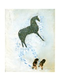 Not a White Horse Giclee Print by George Adamson