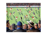 The Big Match, 2000 Giclee Print by P.J. Crook