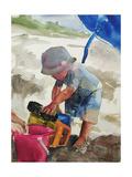 Truck, 2006 Giclee Print by Daniel Clarke