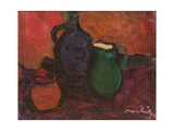 Wine Jug and Jar, 1961 Giclee Print by Emil Parrag