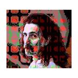Frank Zappa Giclee Print by Scott J. Davis