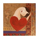 A Devil Called Love, 2007 Giclee Print by Sabira Manek