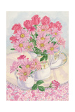 Roses and Chrysanthemums, 1996 Giclee Print by Linda Benton