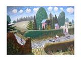Rachel in Flight, 2007 Giclee Print by Ian Bliss