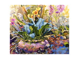 Garden with Plants, 2000 Giclee Print by Christopher Ryland