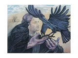 Odins Messenger, 2009 Giclee Print by Silvia Pastore