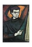 Self Portrait, 1962 Giclee Print by Emil Parrag