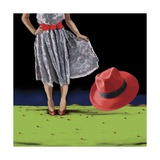The Red Hat, 2008 Giclee Print by Marjorie Weiss