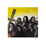 Stations of the Cross VIII: Jesus Speaks to the Women of Jerusalem, 2006 Giclee Print by Chris Gollon