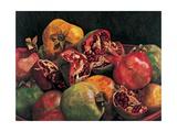 Pomegranates from Chabela, 2007 Giclee Print by Pedro Diego Alvarado