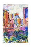Central Park West, 2011 Giclee Print by Peter Graham