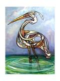Heron, 2005 Giclee Print by Xavier Cortada