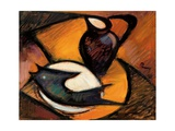 Fish and Jug, 1965 Giclee Print by Emil Parrag