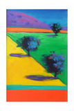 Yellow Field Giclee Print by Paul Powis