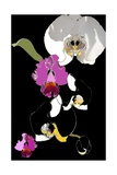 Orchid Giclee Print by Anna Platts