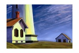 Pigeon Point, 2002 Giclee Print by David Arsenault