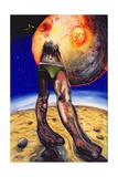 The Hot Day, 1999 Giclee Print by Chris Gollon