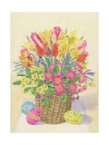 Easter Basket, 1996 Giclee Print by Linda Benton