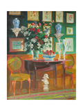 Green Chairs, 2003 Giclee Print by William Ireland