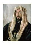 Emir Feisal (1883-1933), 1919 Giclee Print by Augustus Edwin John