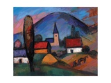 Tiny Village, 1963 Giclee Print by Emil Parrag
