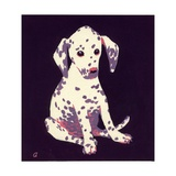 Dalmation Puppy, 1950s Giclee Print by George Adamson