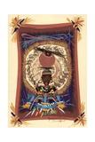 Diviner Tray, 2006 Giclee Print by Oglafa Ebitari Perrin