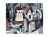 Still Life with Teapots Giclee Print by Catherine Abel