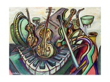 Musica, 2005 Giclee Print by Xavier Cortada