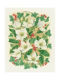Christmas Roses, 1997 Giclee Print by Linda Benton