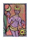 Goddess, 2002 Giclee Print by Bodel Rikys