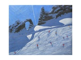 L'Aiguille Percee, Tignes, 2009 Giclee Print by Andrew Macara