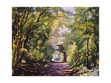 The Valley Walk, Sudbury, 2001 Giclee Print by Christopher Ryland