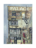 Palace Wharf, Rainville Road Giclee Print by Sophia Elliot