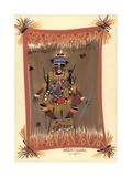 Messengers of Ashe 2, 2006 Giclee Print by Oglafa Ebitari Perrin