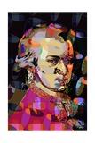 Wolfgang Amadeus Mozart Giclee Print by Scott J. Davis