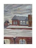 Guinness Trust Buildings, Fulham Palace Road Giclee Print by Sophia Elliot